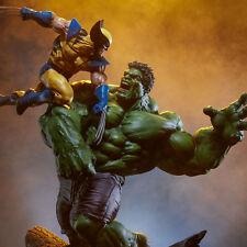 SIDESHOW Marvel Hulk Vs Wolverine Maquette Statue Figure NEW SEALED