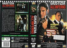 GIUSTIZIA ALL'INFERNO (1993) vhs ex noleggio