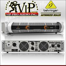 2X Behringer NU12000 iNUKE 12000W Class-D lightweight Power Amplifier Amp