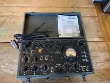 Nice Vintage I-177 Radio Tube Tester