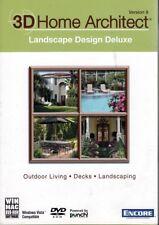 3D Home Architect LANDSCAPE DESIGN Deluxe v9 (Outdoor Living, Decks,Landscaping)