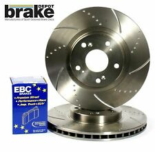 Lexus IS200 IS300 Front Performance Brake Discs and EBC Redstuff Pads