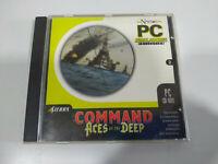 Command Aces Of The Deep Scie - Jeu De Pour PC Cd-Rom Espagne