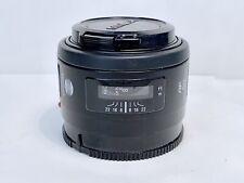 Objectif Standard Fixe MINOLTA (Sony Alpha) AF 50mm f/1,7 Prime Lens Modèle RS