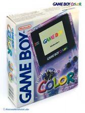 Nintendo GameBoy Color - Konsole #Clear/Atomic Purple mit OVP