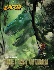 Zagor: The Lost World (2018 Hardcover, Martinière cover), GN, Boselli, Rubini