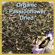 ORGANIC Dried PASSIONFLOWER HERB Tea Passiflora incarnata Passion Flower Premium