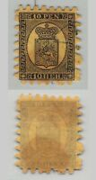 Finland 1866 SC 8b used roulette I . c9544