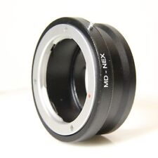 Minolta MD-NEX Adapter for MD Rokkor Lens to Sony E Mount MD to Sony A7 (MDNEXG)
