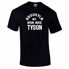 Iron Mike Brooklyn N.Y. Tyson Boxing Training Premium Quality T Shirt up to 5XL