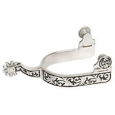 Weaver Leather Ladies Stainless Engraved Western Show Spur 25-7900