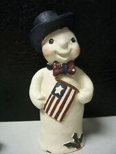 Sarah's Attic - Patriot Snowman