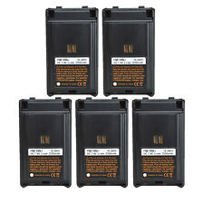 Lot 5 FNB-V96 Li-Ion Battery for Vertex Standard VX-350 VX-351V VX-352U Radio