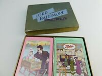Vintage LORD BALTIMORE Linen Finish Playing Cards