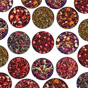 100% Natural Herbal & Fruit Tea Blends Infusion - Loose Leaf - BUY3 GET 1FREE