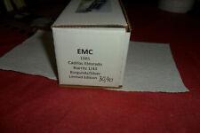 EMC 1985 CADILLAC ELDORADO LE BURGANDY 1/43 30/40 +BOX DIECAST  LOT 0 01 0 1 0 7