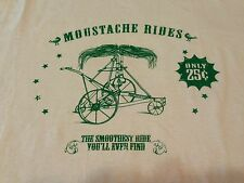 Mustache Rides Only 25 Cents T Shirt Spring Break Sexual Erotic Smooth Ride 2XL