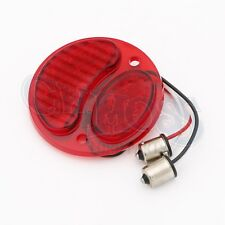 FORD MODEL A  LED TAILLIGHT LENS 6 VOLT SOLID RED RIGHT