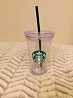 New Starbucks Reusable Cup Cold Drink Venti With Lid And Straw