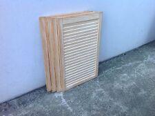 4xBrand New All Solid Pine Louvre Door In Raw-SALE