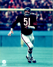 Dick Butkus Chicago Bears 8x10 Color Photo C Unsigned