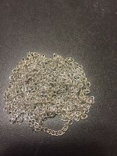 Metal Hobby Chain 3 Feet Silver Chain Perfect Multi Scale Accessory