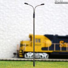 20 x OO /HO Gauge Model Train Railway Lamps LED Lamp posts Street Lights #QD115D