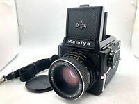 【EXC+5】 Mamiya M645 + Waist Level Finder + Sekor C 80mm f2.8 lens from JAPAN
