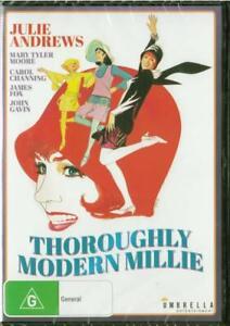 THOROUGHLY MODERN MILLIE - JULIE ANDREWS - REGION 4 NEW  DVD - FREE LOCAL POST