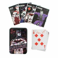 DC Comics The Joker Playing Cards Iconic Poker Set Embossed Storage Tin