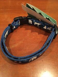 "NEW COASTAL Holiday/Winter Dog Collar 12""-18"""