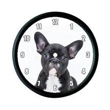 Bulldog Francese Cucciolo Foto Orologio Da Parete-Regalo Amante Degli Animali Pet