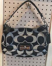 COACH KRISTIN Signature East West Convertible Shoulder Handbag Satchel F22302
