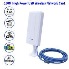 Antena WIFI para Exterior Largo alcance Conexión USB amplificador
