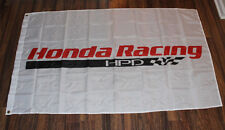 New White Honda Racing HPD Racing Flag One Sign Banner Auto NASCAR