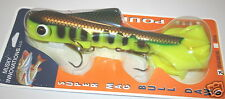 """15"""" Super Magnum Double Tail Bull Dawg Musky Innovations Perch Plastic Body"""