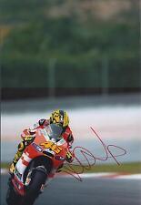 VALENTINO ROSSI Autograph SIGNED DUCATI 12x8 Photo AFTAL COA RARE GP Champion GP