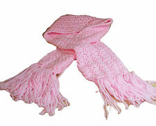 Hand Crochet Pink Scarf -- Proceeds to Benefit East Portland Relay For Life