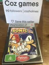 New listing Sonic Mega Collection Plus + For The PS2 Complete Platinum Version Oz Release