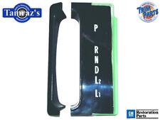 65 Impala THM Console Indicator Shift Plate PRNDL2L1