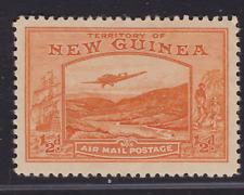 NEW GUINEA 1939 1/2d Orange Bulolo AIR MAIL NEW GUINEA MINT/MH (KI46)