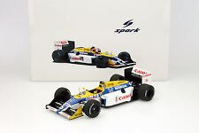 Nelson Piquet Williams FW11B #6 Champion du monde GP Japon Formule 1 1987 1:18
