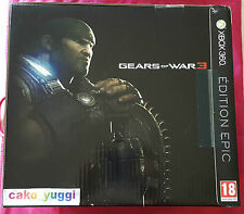 GEARS OF WAR 3 EPIC EDITION XBOX 360 PAL VERSION 100% FRANCAISE BOITE ABIMEE