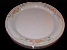 Lenox Chinastone Blossoms on Beige Set of 4 Dinner Plates USA Retired