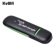 7.2Mbps USB WIFI Modem Hotspot Dongle 3G WiFi Router With SIM Card Slot For Car