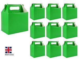 St Patrick`s Day GREEN PARTY BOXES Irish Goodies Patricks Favors Gift Box Lot UK