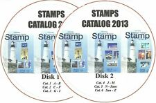 World Stamps Catalog 2013 ▶ Stamp Guide Price 6 books on 2 DVD