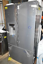 "Whirlpool WRF954CIHZ 36"" Stainless French Door Refrigerator NOB CD T2 #25708 HL"