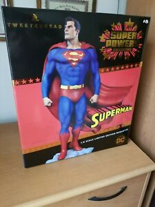 NEW Tweeterhead Superman Statue DC EXCLUSIVE Super Powers Maquette