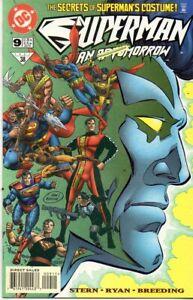 Superman The Man of Tomorrow #9 / 1997